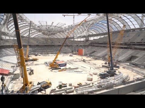 Despite economic blockade and corruption scandals, Qatar prepares for its 2022 World Cup Mp3