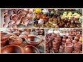 Mud Pot Varieties in Coimbatore ||மண் பாத்திரம் வகைகள்|| shopping vlog