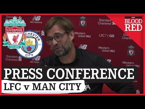 Jurgen Klopp FULL Pre-Match Press Conference   Liverpool v Man City