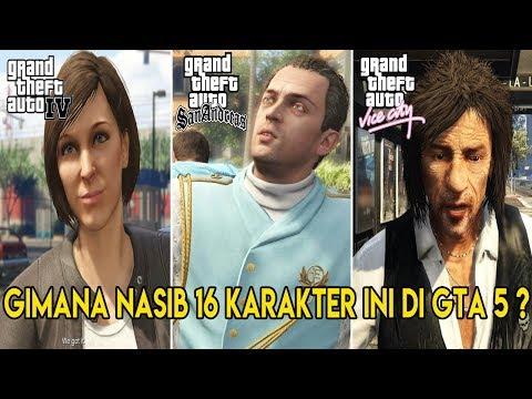 JARANG DISADARI ! 16 KARAKTER GTA 5 INI TERNYATA DARI GTA SAN ANDREAS, GTA VICE CITY, GTA 4 & GTA...