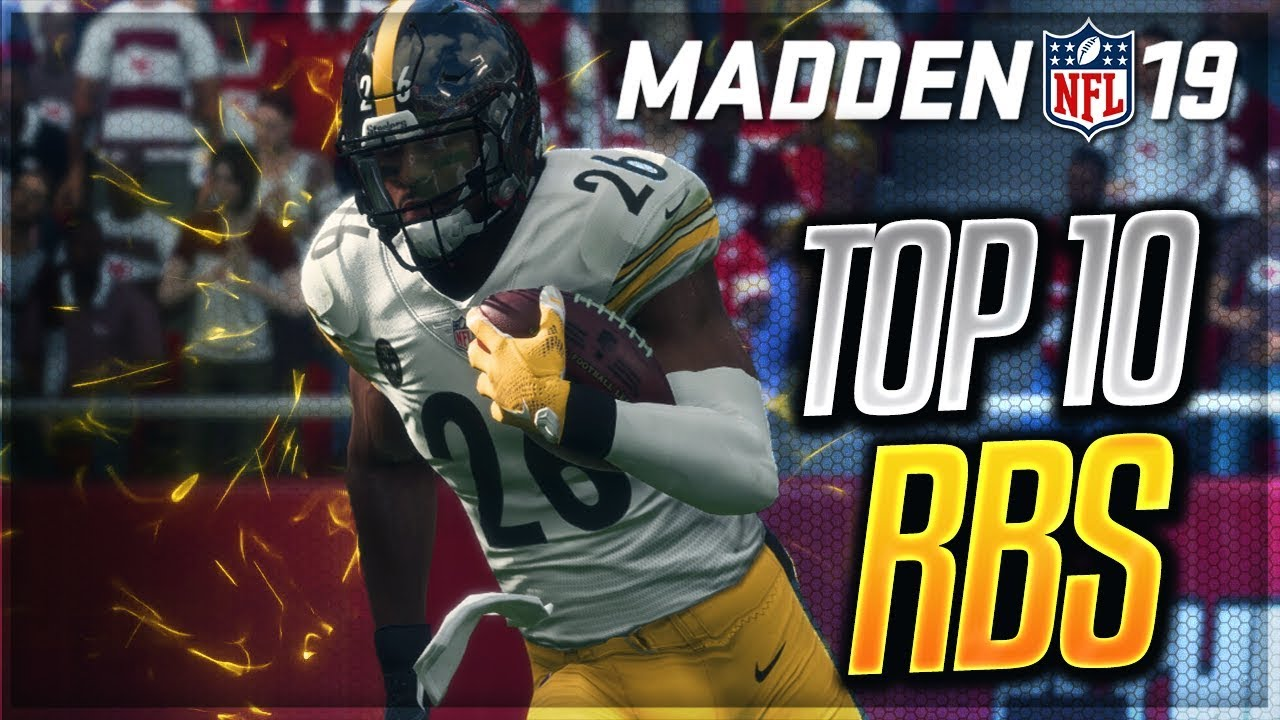 Madden 19 HB Ratings and Achievements - Top 10 Half Backs - madden