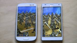 Samsung Galaxy S3 vs. LG Optimus 4X HD - Benchmark Test Comparison & First Hands-On Review
