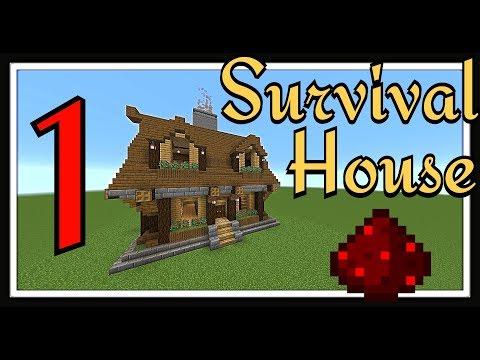 minecraft-tutorial-:-survival-house-part-1-exterior