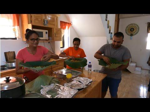HINDUS IN GUYANA CELEBRATING NAVRATRI # MAKING 7 CURRY