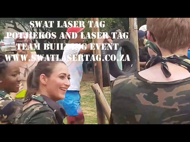 SWAT Laser Tag Sandton Corporate Team Building Event Gauteng