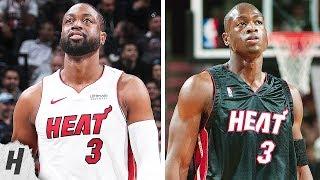 Dwyane Wade First NBA Game vs Last NBA Game | 2003 vs 2019