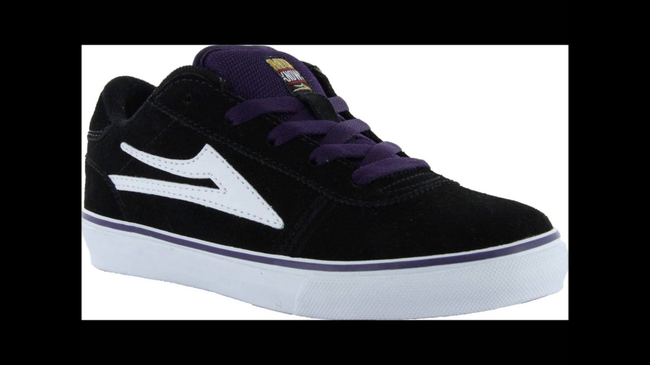 Skate shoes or skateboard shoes are a type of footwear specifically designed and manufactured for use in skateboarding. While numerous non-skaters choose to wear skate shoes, the design of the skate shoe includes many features designed especially for use in skateboarding, including a vulcanized rubber or polyurethane sole with minimal .