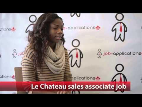 Le Chateau Sales Associate Job