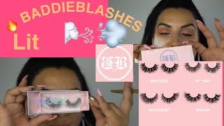 BADDIE B LASHES | Review+Demo|High Edition|CANVAS BEAUTY