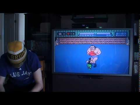 Mike Tyson's Punch-out!! Game WON blindfolded