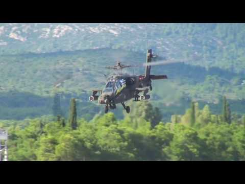 APACHE AH-64D DEMO  ATHENS FLIGHT WEEK 2014