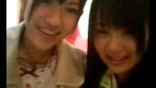 May 4th, 2008 Nacchan and Mayuyu, in their Pajama Drive costumes, s...