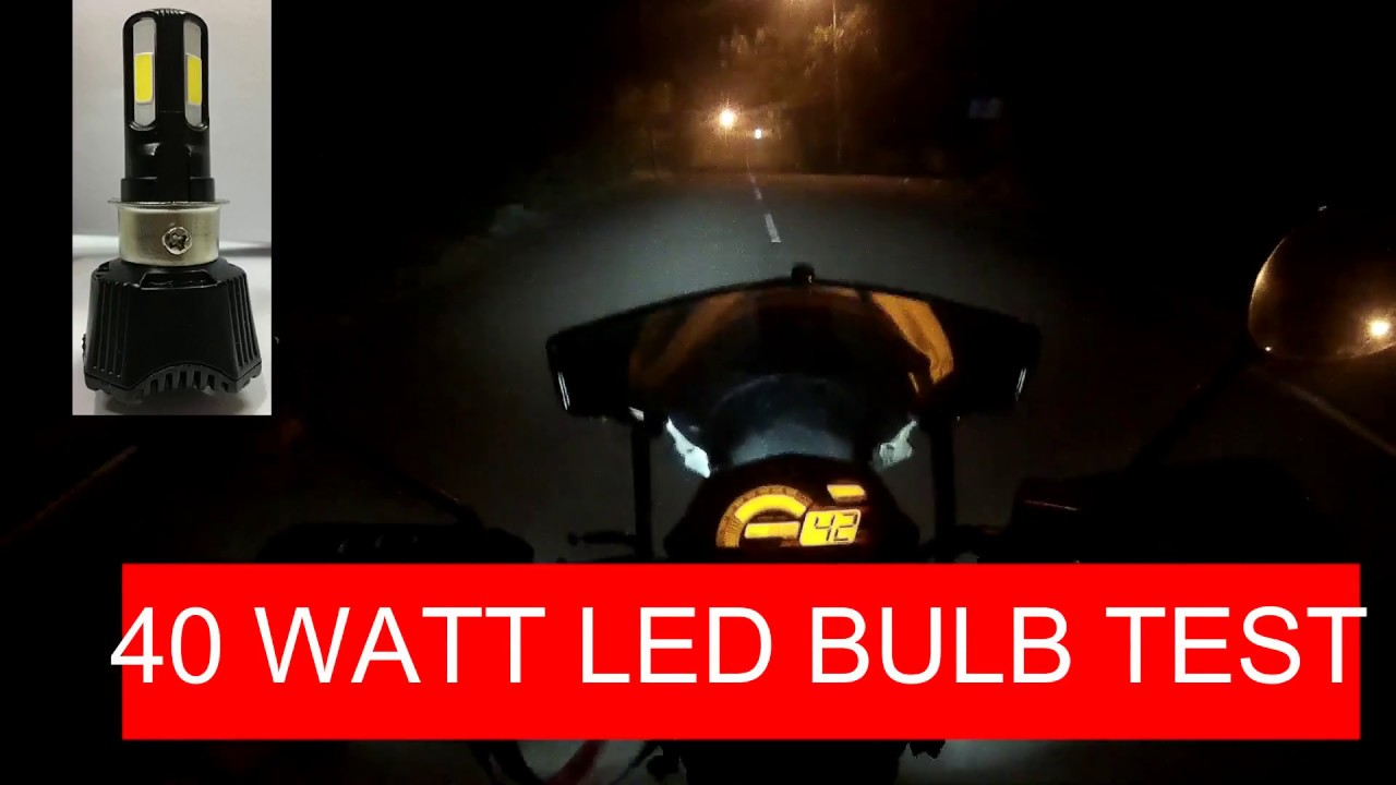 40 Watt In Lumen 40 Watt 4400 Lumen Rtd M02h Led Bulb Test