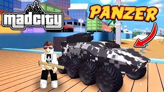 TANK UPDATE + 7 NEW CODES MAD CITY! (Roblox)