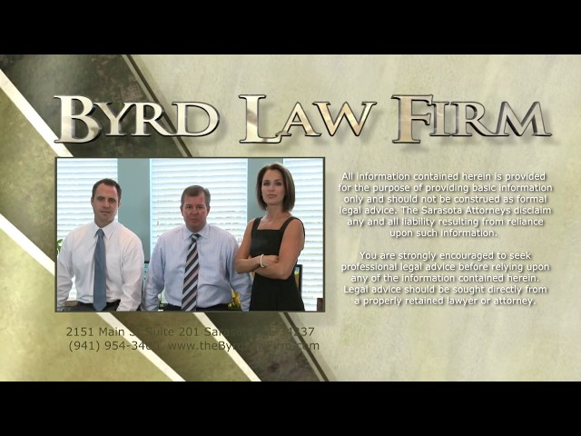 What Happens To Your Licence When You Get A DUI?  Derek Byrd, Byrd Law Firm Sarasota Florida
