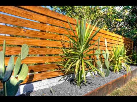 decorative fences landscaping | fences collection - youtube