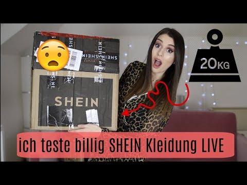 20kg PAKET bei SHEIN bestellt  🤑 CHINA WARE LIVE TESTEN!