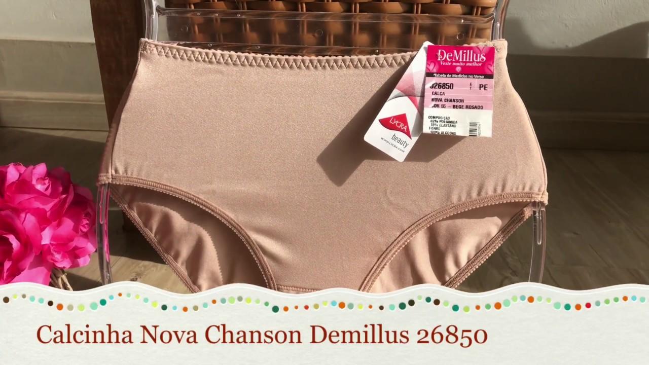 5de3f4c65 Calcinha Demillus Nova Chanson Cintura Alta 26850 - Le Lingerie ...