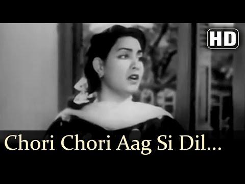 Chori Chori Aag Si Dil Mein| Dholak Songs | Ajit| Meena Shorey | Sulochana Kadam| Filmigaane