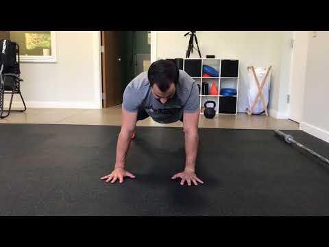 Push-up Shoulder Taps