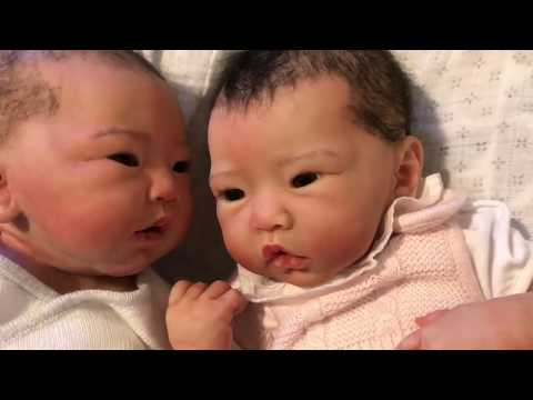 Silicone Baby Enlai Name Reveal and Comparison with Baby Lynn