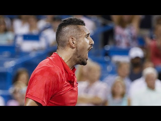 The Most Serious and Brutal Tennis by Nick Kyrgios