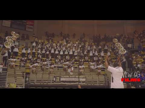 Talladega College Vs Alabama State Marching Band - 2018 ASU Jamboree