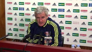 Mark Hughes Press Conference: Aston Villa