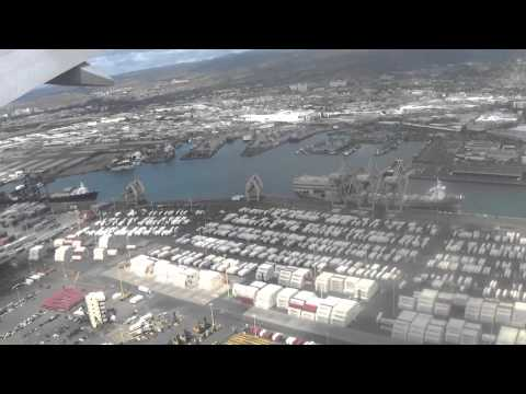 Flying into HNL Honolulu International Airport on 2/6/2015