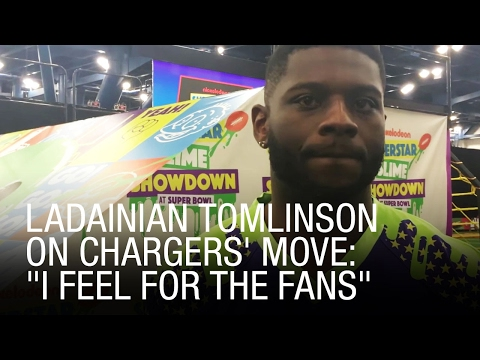 LaDainian Tomlinson On Chargers
