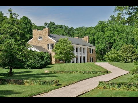 Stately Georgian-Inspired Mansion In Warrenton, Virginia | Sotheby's International Realty