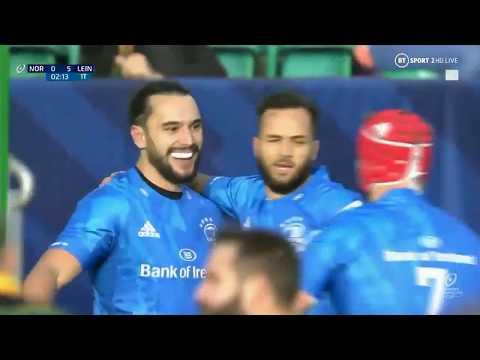 Northampton 16 Leinster 43 | Heineken Champions Cup Highlights