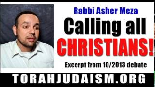 Rabbi is Calling all Christians!