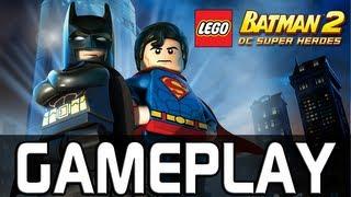 [Wii] Lego Batman 2: DC Super Heroes | Gameplay de 20 Minutos [FULL HD]