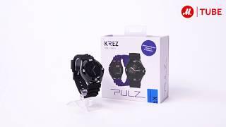 Распаковка смарт-часов KREZ PULZ SW01