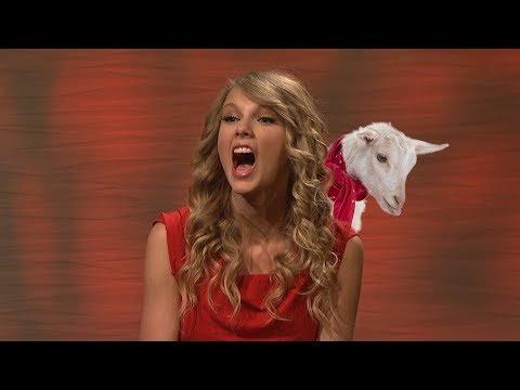 Taylor Swift Goat Laugh