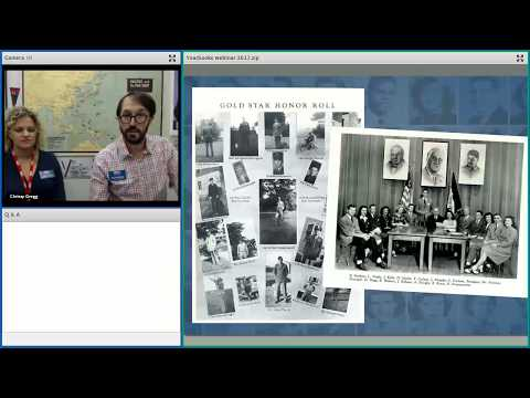 Student Webinar: See You Next Year! High School Yearbooks from WWII
