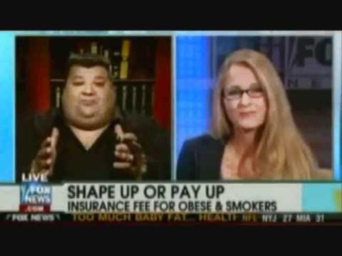 Big Guy From Boston vs. Skinny Chick on Fox News