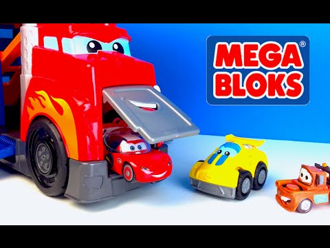 FISHER PRICES MEGA BLOCKS FIRST BUILDERS FAST TRACKS RACING RIG MIX AND MATCH LEGO DUPLO & CARS
