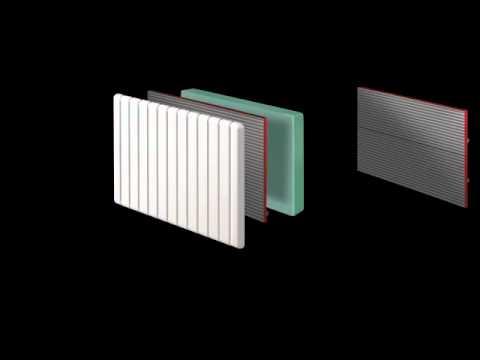 radiateur rayonnement doux inertie pilot e altea youtube. Black Bedroom Furniture Sets. Home Design Ideas