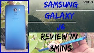 SAMSUNG GALAXY J6    HandsOn   and   Review in 3 minutes