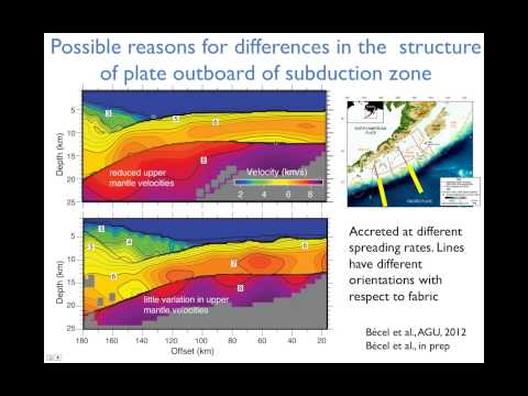 Imaging Faulting and Hydration in the Alaska Subduction Zone with the R/V Langseth