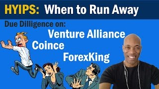 Venture Alliance - Coince - ForexKing  -  Hyip Scam Warning | Mike Dennis