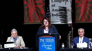NCAI 2019 NATIONAL CONGRESS OF AMERICAN INDIANS  Tara Sweeney US Dept of Interior