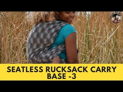 Seatless Rucksack Back Carry