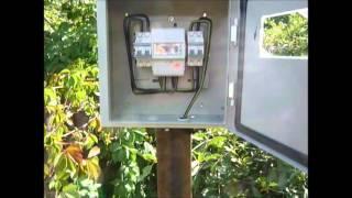видео Подключение частного дома к линии электропередачи