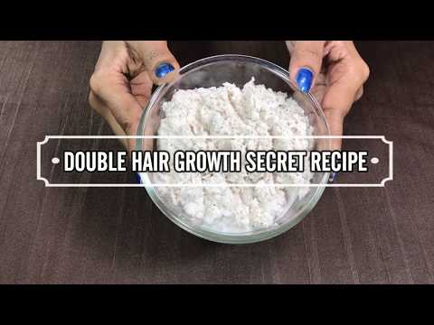 SECRET Recipe For DOUBLE Hair Growth | Magical Hair Growth Treatment