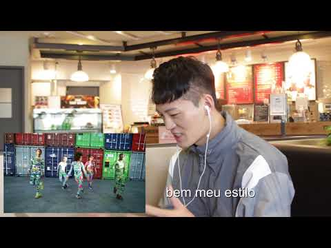 Coreógrafo Coreano Reage a Anitta Iza High Hill Dream Team do Passinho -  ft Jay Kim
