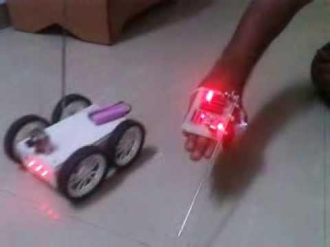 ACCELEROMETER BASED ROBOT