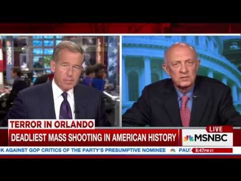 R. James Woolsey joins MSNBC to Discuss Orlando Massacre